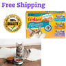 12 Cans Wet Cat Food Purina Friskies Tasty Treasures 5.5 oz. Variety Hot New USA
