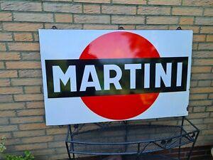 MARTINI von 1961, Original Emailschild 107 cm x 70 cm