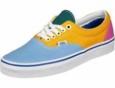 c4aa8db5064dc Men's Size 10 Multi Color Block Era Blue Yellow Pink VANS Skate Shoes