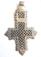 Large Orthodox Coptic Cross Pendant Rasta African Jewelry Ethnic