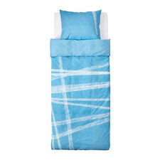 Ikea Stojig Single Quilt Cover and pillowcase - Light Blue - 902.726.52