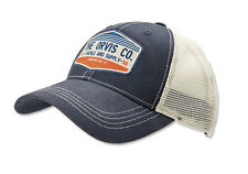 Orvis Rocky River Trucker Cap Navy NEW FREE SHIPPING