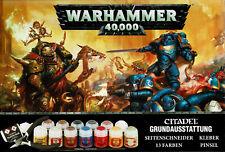 Warhammer 40,000: Citadel Essentials Set Grundausstattung NEU und OVP