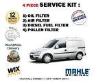 para Opel Conjunto 1.7 CDTI 100bhp 2004- > Aire Aceite Gasolina Filtro De Polen