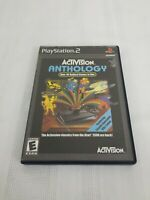 Activision Anthology (Sony PlayStation 2, 2002) with manual