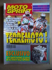MOTOSPRINT n°4  1995 [Q78]   Test TRIUMPH THUNDERBIRD BAJAJA CHETAK 150