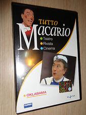 DVD TUTTO MACARIO LA RIVISTA OKLABAMA