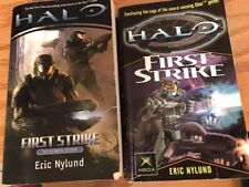 Halo First Strike TWO BOOKS - General Edition & Definitive Edition Eric Nylund