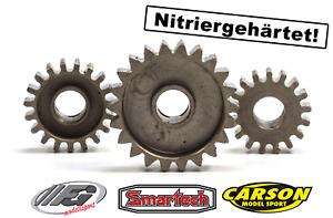 HT-Stahlritzel für alle FG und 1:5 Carson / Smartech C5 Modelle - Ritzel pinions