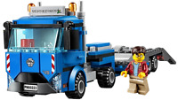 LEGO City Articulated Lorry Transporter Truck & Driver Minifigure Train Town