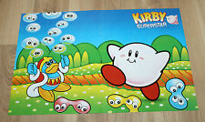 1996 Nintendo Kirby Super Star rare small Retro Poster 42x28cm SNES