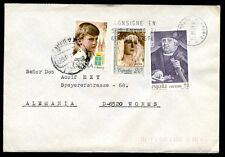 Spain 1988 Cover To Germany #C7036
