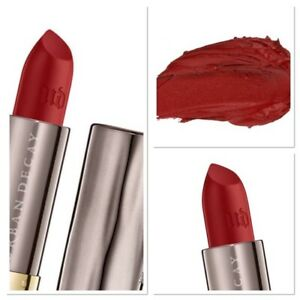 Urban Decay VICE Full Size Lipstick BAD BLOOD (Deep Red with Matte) NEW