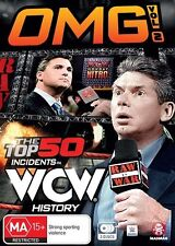 WWE - Omg! The Top 50 Incidents In WWE History : Vol 2 (DVD, 2016, 3-Disc Set)