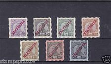 ANGOLA D. MANUEL II (1912) ALMOST COMPLETE SET,MISSING 3 LOW VALUES