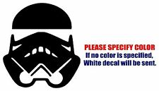 Storm Trooper #2 Graphic Die Cut decal sticker Car Truck Boat Window 6""