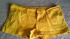 American rag yellow shorts size 9
