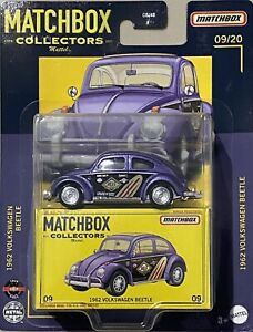 Matchbox Collectors 2021 #9 1962 Volkswagen Beetle Purple 2021 New Release