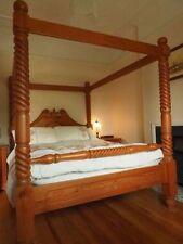 Medium Wood Tone Handmade Beds & Mattresses