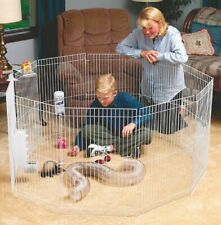 """Marshall Play Pen For Small Animals 20"""" X 3"""" X 30"""" White"""