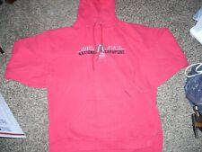 Ncaa, Ohio State Buckeyes, 2002 National Champions, embroidered hoodie, adult La