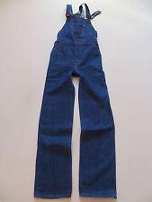 Indigo -/dark-washed L34 Damen-Jeans mit hoher Bundhöhe