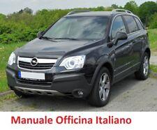 OPEL ANTARA  (2006/2015) Manuale Officina Riparazione ITALIANO