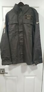Nike New York Giants Salute to Service Mens Jacket NFL L Brown NWT AT7715-237