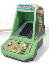 Vintage 1982 Sega Official Frogger Mini Tabletop Arcade Coleco Made In Japan
