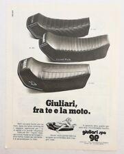 Pubblicità 1982 MOTO GIULIARI SELLA MOTOR advertising publicitè werbung reklame