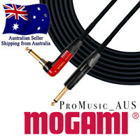 MOGAMI Gold Instrument Guitar Cable Neutrik Gold Silent Plug #2534