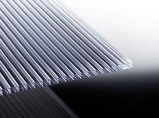 16mm Hohlkammerplatten KLAR Polycarbonat  Doppelstegplatten  Roof-Star *Muster*