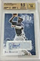 Beckett Justifiable Jason Heyward autograph baseball card 9.5 GEM Mint 2007-Cubs