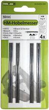 4x Hartmetall Hobelmesser für Bosch PHO 300 / PHO 3-82 35-82 / GHO 18 V / B34