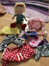 Haba Puppe Annie mit verdbaudet Trage und Kleidung