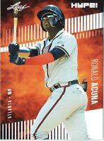 Ronald Acuna Jr 2018 Leaf HYPE! Baseball Rookie 25 Card Lot Atlanta Braves #1A