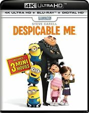 Despicable Me / Despicable Me 2 / Minions (4K Ultra HD + Blu-ray + Digital HD)