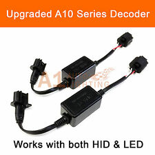 2x A10 EMC H13 Headlight Canbus LED Decoder Error Free HID Anti-Flicker Resistor