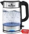 Speed Boiling Kettle BlueStone Electric 100% BPA Free 1500W (Glass)