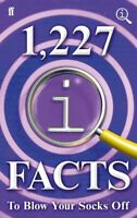 1,227 QI facts to blow your socks off by John Lloyd (Hardback) Amazing Value