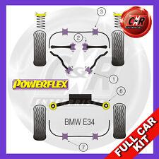 BMW E34 5 Series 535 540 M5 (88-96)  Powerflex Complete Bush Kit