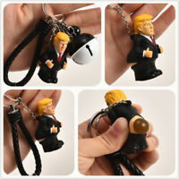 Pooping Donald Trump Head Make America Great Again Squeezable Key Chain 1pc