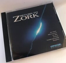 Return To Zork 1993 PC CD-ROM Classic Vintage Graphical Adventure Game