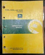 John Deere 4055 4255 Amp 4455 Tractors Operator Manual Om Rw25629 A9 S 5