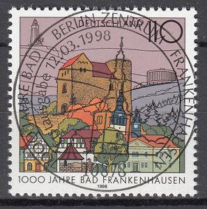 BRD 1998 Mi. Nr. 1978 gestempelt BERLIN Sonderstempel , mit Gummi (17608)