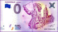 UE KY-1 / DUNKERQUE / BILLET SOUVENIR 0 € / 0 € BANKNOTE 2018 / ECHANGE POSSIBLE