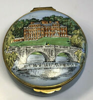 Crummles English Enamels Brocket Hall Welwyn Hertfordshire Large Trinket Box