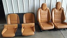 2010 2011 2012 2013 2014 2015 Camaro SS Leather seats tan Front Rear Coupe