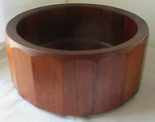 RARE DANSK DESIGNS JENS QUISTGAARD WOOD PALISADER SALAD SERVING BOWL