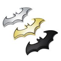 Emblema 3D adesivo badge metallo BATMAN car sticker pipistrello auto moto nuovo